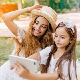 Child Bonding with Mom